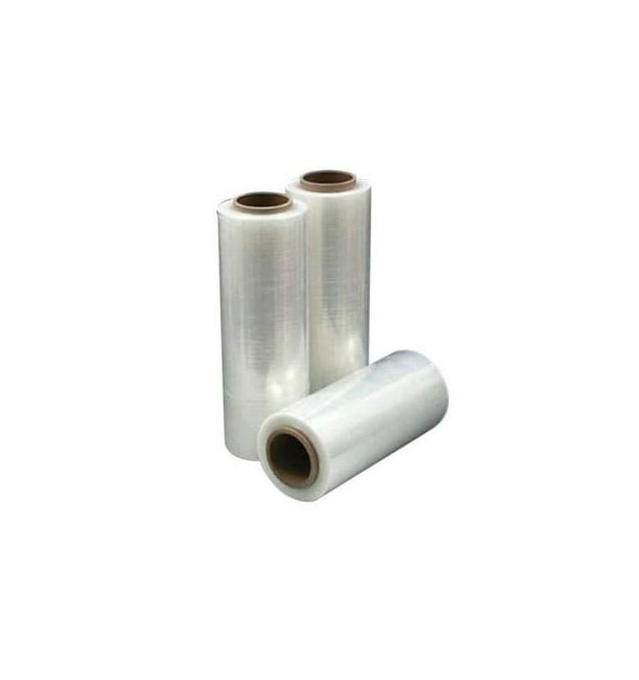 Transparente Stretchfolie 50cm 2,1 Kg 23 μm (6 Rollen)