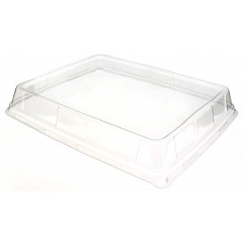 Plastikdeckel Hoch Transparent rechteckig 316x265mm (50 Stück)