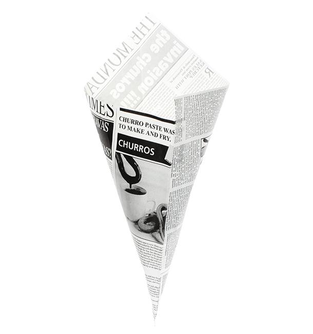 Spitztüten Pergament Fettabweisend 420mm 600g (1.000 Stück)