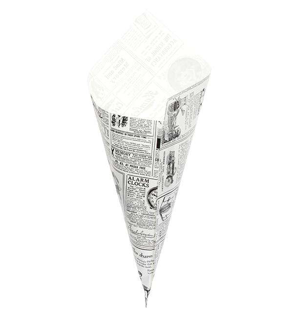 Spitztüten Pergament Fettabweisend 340mm 400g (1.000 Stück)
