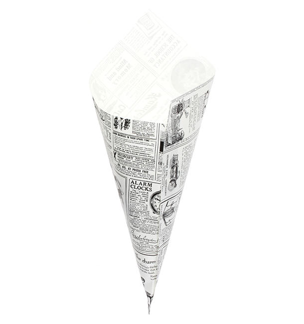 Spitztüten Pergament Fettabweisend 340mm 400g (250 Stück)