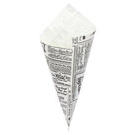 Spitztüten Pergament Fettabweisend 240mm 100g (250 Stück)
