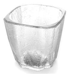 """Wiederverwendbares Glas SAN """"Cube"""" 40ml (6 Stück)"""