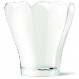 "Plastikschüssel PS ""Tulipa Lily"" Transparent 100ml (40 Stück)"