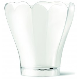 "Plastikschüssel PS ""Tulipa Lily"" Transparent 100ml (360 Stück)"
