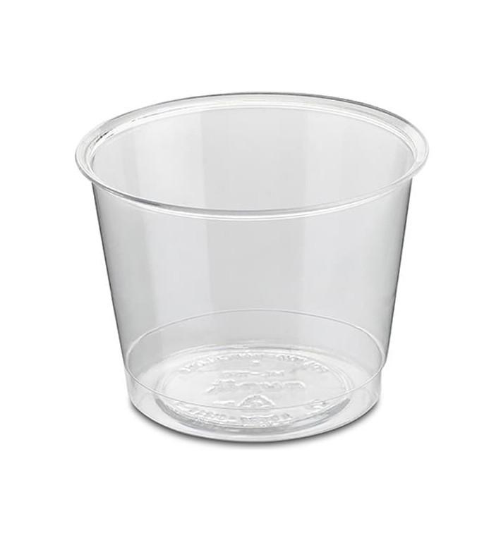 Plastikbecher für Wein PS Glasklar 150ml (50 Uds)
