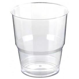 Plastikbeche PS Glasklar Hart 250ml (50 Uds)