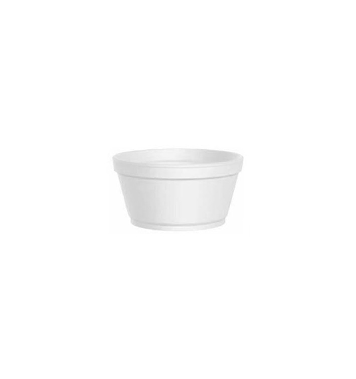 Styroporschale weiß 2 Oz/60ml Ø7,4cm (50 Stück)