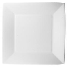Teller Zuckerrohr Weiß Nice 23x23cm (50 Stück)