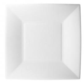 Teller Zuckerrohr Weiß Nice 18x18cm (500 Stück)