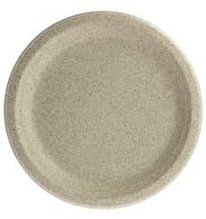 Teller Weizenkleie Bio Ø23cm (50 Stück)