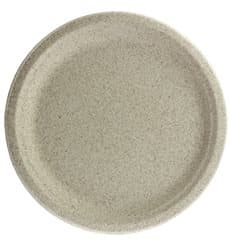 Teller Weizenkleie Bio Ø26cm (50 Stück)