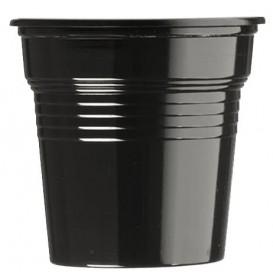 Plastikbecher PS Schwarz 80ml Ø5,7cm (50 Stück)