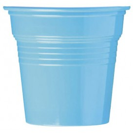 Plastikbecher PS Hellblau 80ml Ø5,7cm (50 Stück)