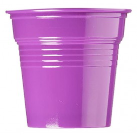 Plastikbecher PS Violett 80ml Ø5,7cm (50 Stück)