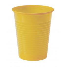 Plastikbecher PS Mango 200ml Ø7cm (50 Stück)