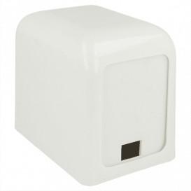 Serviettenspender aus Plastik Weiß Miniservis 17x17 (1 Stück)