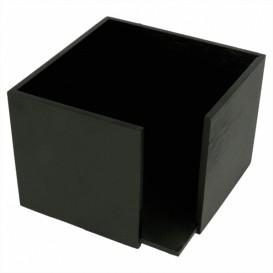 Serviettenhalter Cocktail Schwarz 13,5x13,5x10cm (1 Stück)