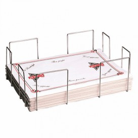 Tischsets Spender Aus Draht 45,5x33,5x15cm (6 Stück)