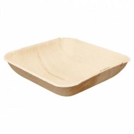 Palmblattschale Quadratisch 15x15x4cm (25 Stück)