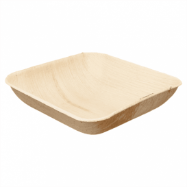 Palmblattschale Quadratisch 20x20x4cm (100 Stück)