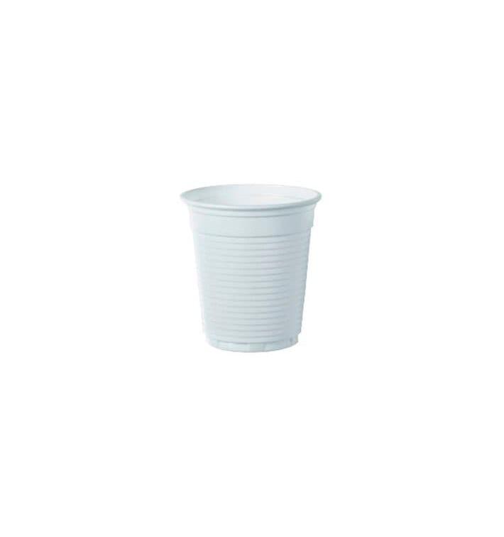 """Plastikbecher weiß """"Vending"""" PS 160ml (3000 Stück)"""