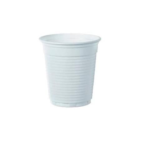 Plastikbecher weiß PS 160ml (100 Einheiten)