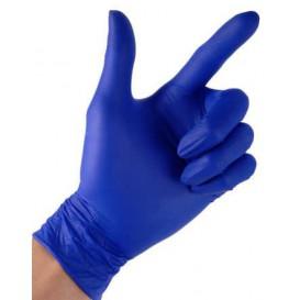 NitrilHandschuhe Puderfrei Blau Größe M 4,5G (100 Stück)