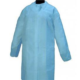 PP Schutzmäntel Kadett 35gr Klettverschluss Ohne Tasche Blau (1 Stück)