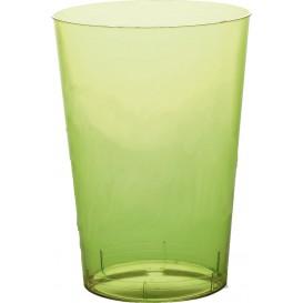 Becher aus Hartplastik Moon Grasgrün Transp. PS 350ml (20 Stück)