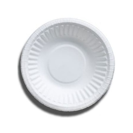 Papier Schüssel weiß 250ml (50 Stück)