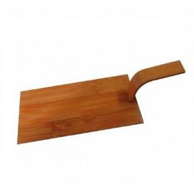 Mini-Bambusschaufel Natürlich Tapas 10x5 cm (100 Stück)