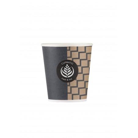 Bio Kaffeebecher Cupmatic 6 Oz/192ml Ø7,0cm (3000 Stück)