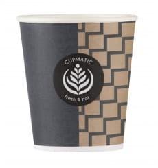 Bio Kaffeebecher Cupmatic 6 Oz/192ml Ø7,0cm (100 Stück)