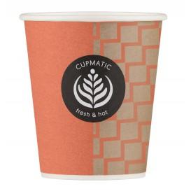Bio Kaffeebecher Cupmatic 8 Oz/210ml Ø7,0cm (100 Stück)