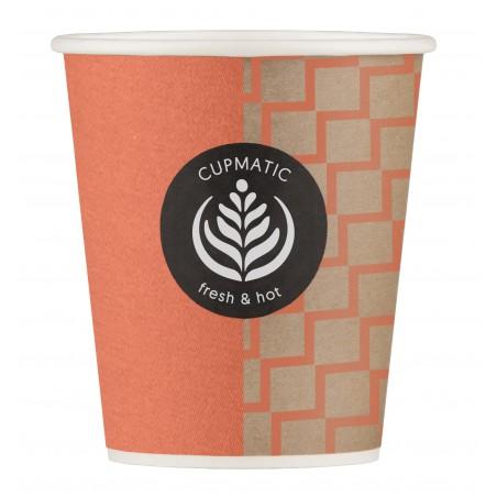 Bio Kaffeebecher Cupmatic 8 Oz/210ml Ø7,0cm (2500 Stück)
