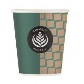 Bio Kaffeebecher Cupmatic 9 Oz/280ml Ø8,0cm (1000 Stück)