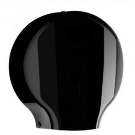 Toilettenpapierhalter für Großrollen 300m ABS Schwarz (1 Stück)