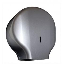 Toilettenpapierhalter für Großrollen 300m ABS Silber (1 Stück)