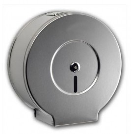 Toilettenpapierhalter für Großrollen 300m Rostfreier Stahl 430 (1 Stück)