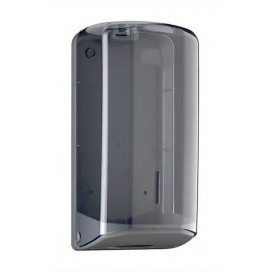 Toilettenpapierhalter für Großrollen Verschachtelt Z ABS Fumé (1 Stück)