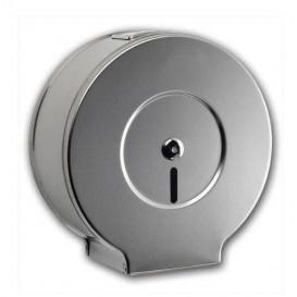 Toilettenpapierhalter für Großrollen 300m Rostfreier Stahl Samtig (1 Stück)