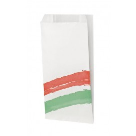 Burgerpapier fettdicht Streifen 14+5x23cm (1.000 Stück)