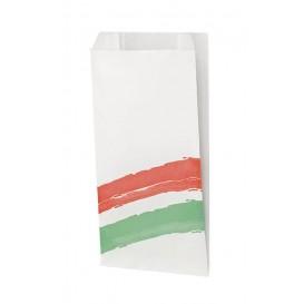 Burgerpapier fettdicht Streifen 14+7x27cm (125 Stück)