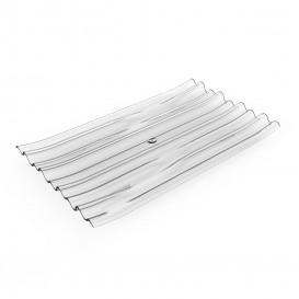 """Plastikteller PS """"Bamboo"""" Transparent 10x6cm (500 Stück)"""