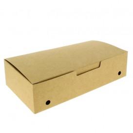 SnackBox mit Deckel To Go Groß Kraft 200x100x50mm (375 Stück)