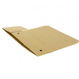 SnackBox mit Deckel To Go Groß Kraft 200x100x50mm (25 Stück)