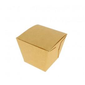 "Faltbox Pappe ""To Go"" Wok Kraft 780ml (200 Stück)"