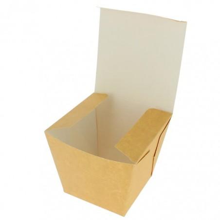 "Faltbox Pappe ""To Go"" Wok Kraft 780ml (25 Stück)"