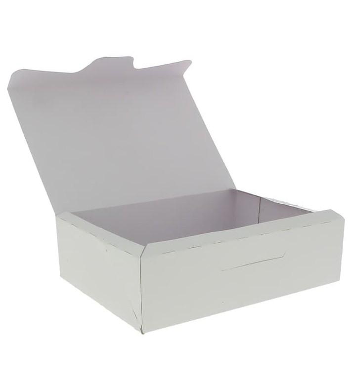 Gebäck Box weiß18,2x13,6x5,2cm 500g (250 Stück)